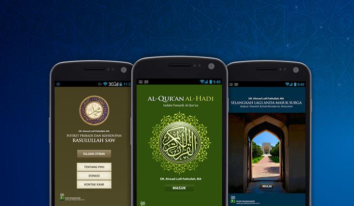 Riset dan Pengembangan Aplikasi Dakwah Islam