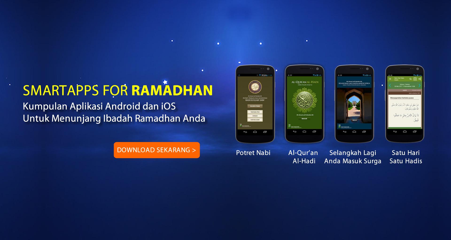 Aplikasi Ramadhan Pusat Kajian Hadis