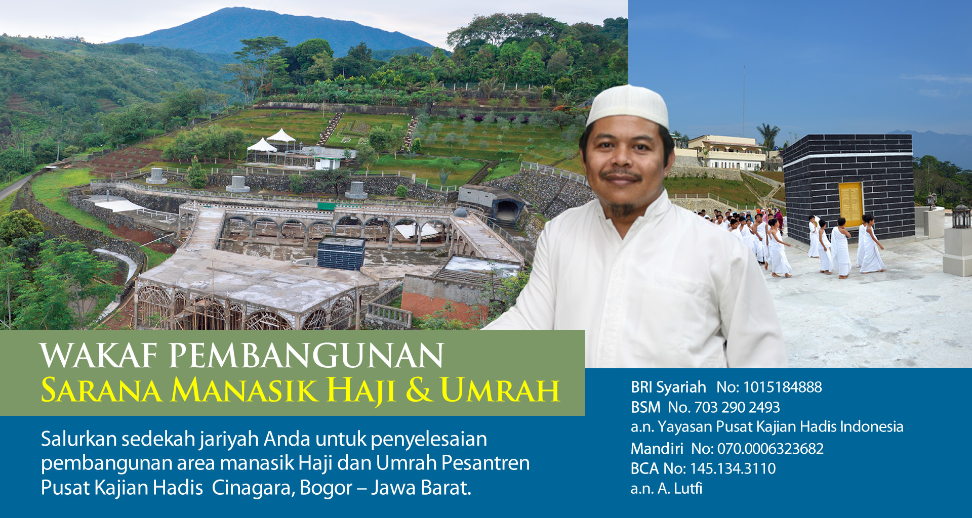 Wakaf Pembangunan Pesantren PKH